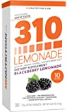 310 Lemonade Blackberry - Slimming Lemonade Helps Restore PH Balance to Your Body SUGAR-FREE and CAFFEINE-FREE beverage Includes 30 Individual Servings