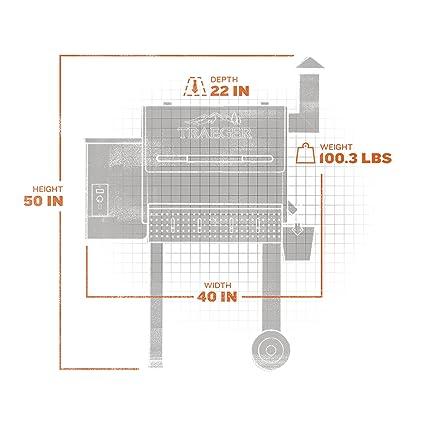 amazon com traeger grills tfb38tca renegade elite wood pellet rh amazon com Traeger Control Board Wiring Diagram Traeger Control Board Wiring Diagram
