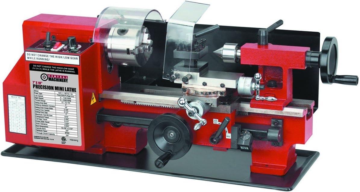 Central machinery 7x10 Precision Mini Lathe