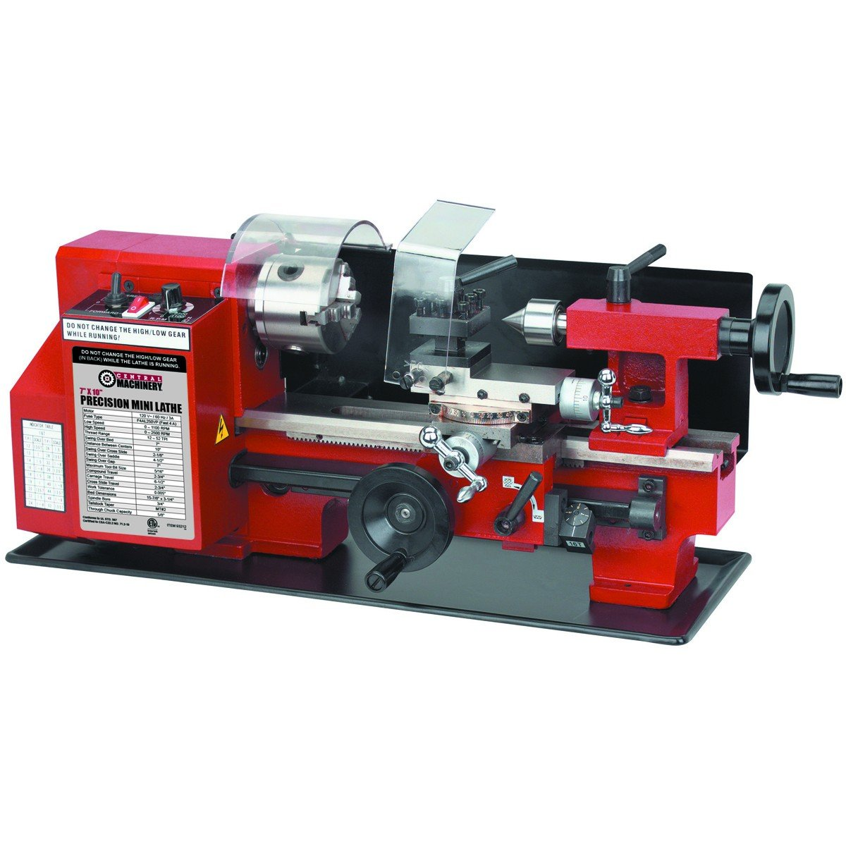 Central Machinery Lathe Machine