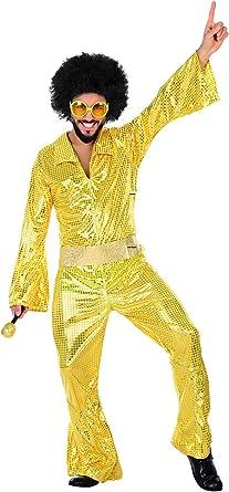 UrAmmi Way 80 Disfraces de Discoteca para Hombres Talla Grande ...