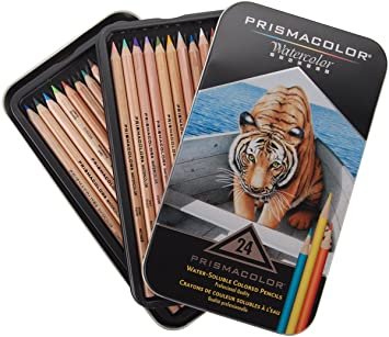36 Pack Deluxe Edition Prismacolor Premier Water-Soluble Colored Pencils