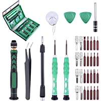Longruner LP3100 S2-reparatieset voor elektronica, schroevendraaiers, precisiegereedschap, magnetisch, voor iPad, iPhone…