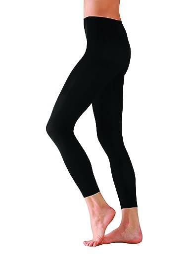 c66d397cd7653 Amazon.com: Foot Traffic - Microfiber Footless Tights, Black: Clothing
