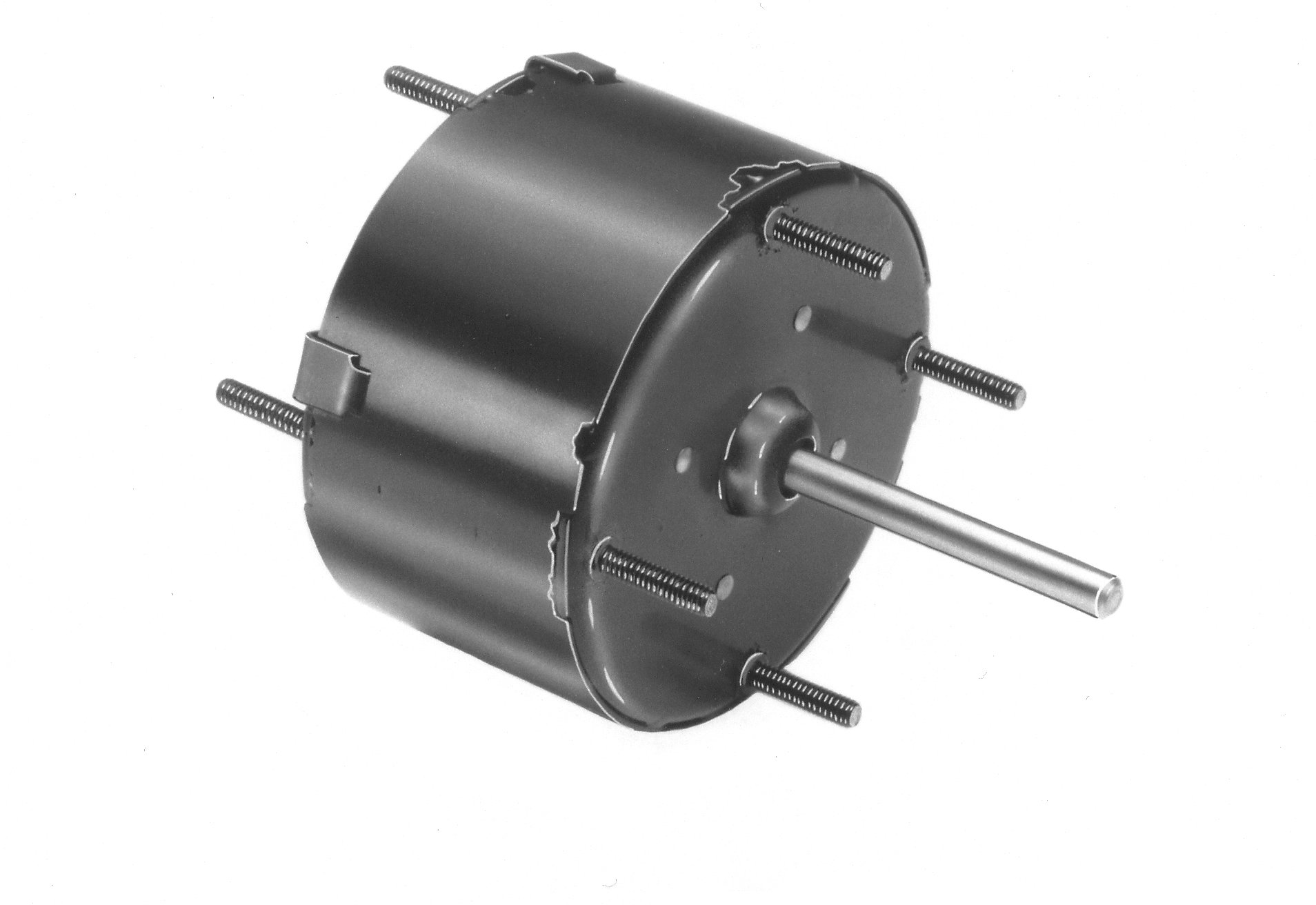 Fasco D123 3.3'' Frame Totally Enclosed Shaded Pole General Purpose Motor with Sleeve Bearing, 1/80HP, 1500rpm, 115V, 60Hz, 0.6 amps, CCW Rotation