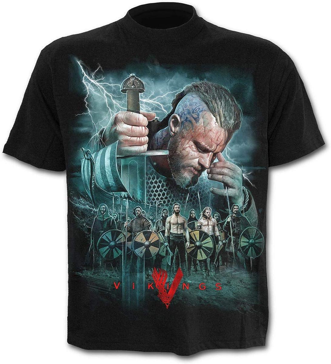 Spiral - Mens - Vikings - Battle - Vikings T-Shirt Black - M