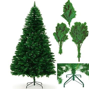 Mejor Calidad Moderna pino Premium árboles de Navidad Artificiales - Verde Colorado, 6 FT (180 CM)750 + Tips: Amazon.es: Hogar