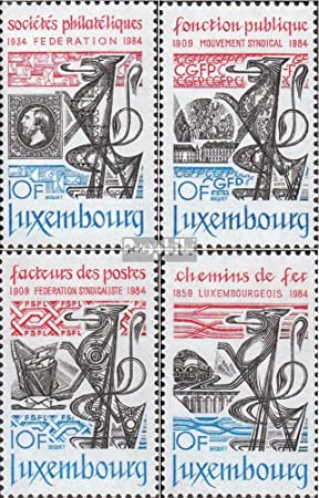 Prophila Collection Luxemburgo Michel.-No..: 1091-1094 (Completa ...