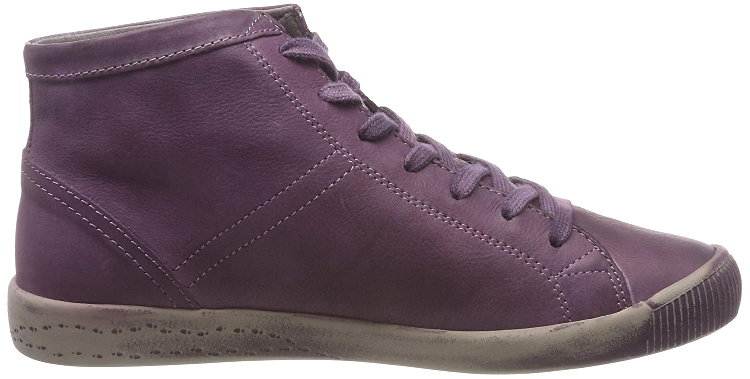 Softinos Women/'s Isleen Washed Hi-Top Trainers