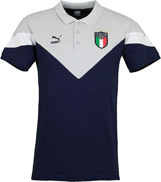 Puma Italia Iconic FIGC MCS - Polo: Amazon.es: Ropa y accesorios