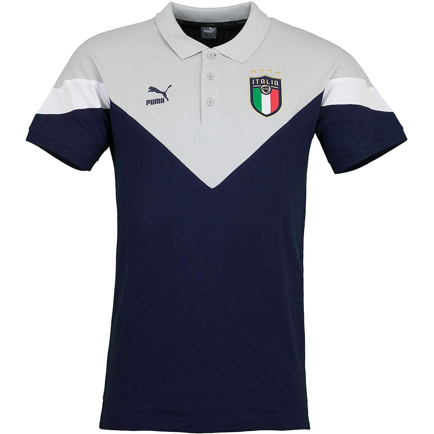PUMA Italia Iconic FIGC MCS - Polo: Amazon.es: Deportes y aire libre