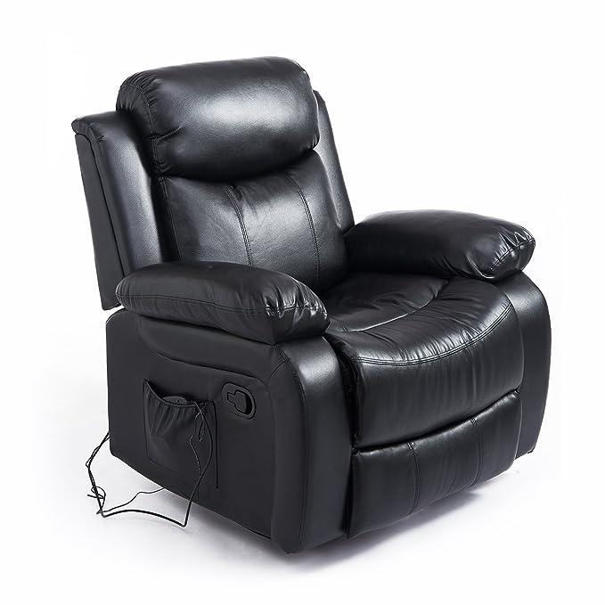 3 opinioni per Homcom – Poltrona Massaggiante Relax Ergonomica con 8 Punti di Massaggio in