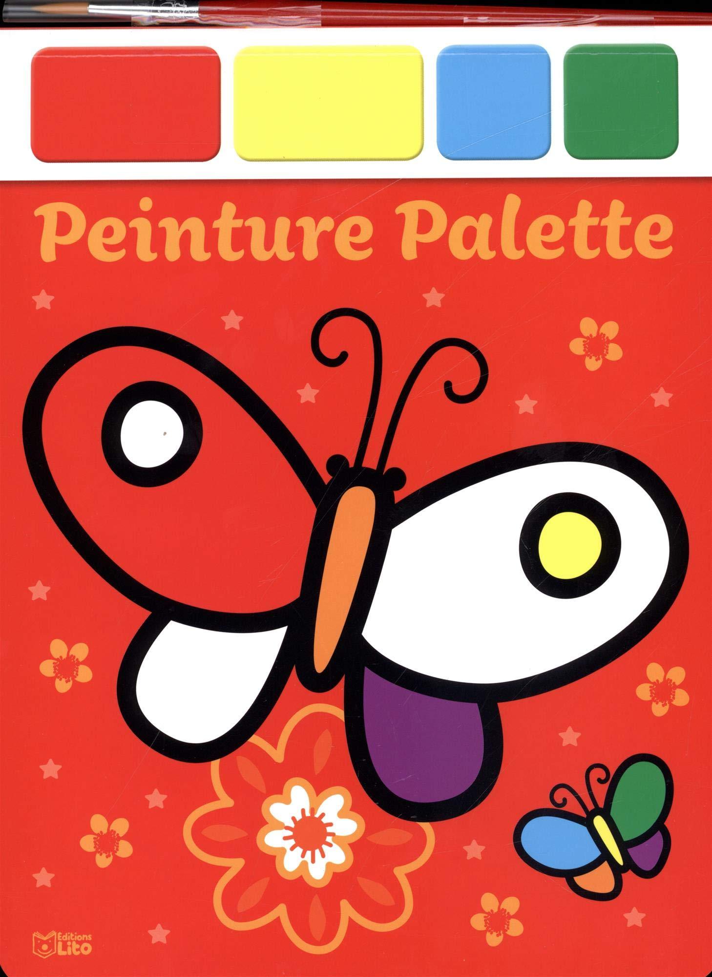 Amazoncom Peinture Palette Les Papillons 9782244108285