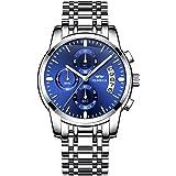 OLMECA Men's Watches Sport Army Fashion Military Wristwatches for Men Waterproof Chronograph Calendar Date Quartz Watches Sta