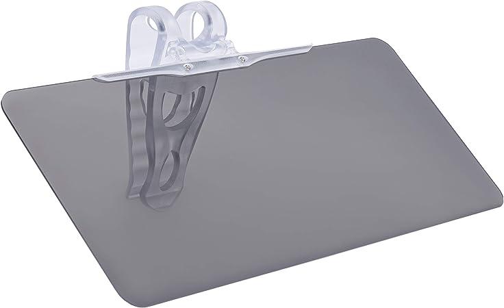 Onvaya Auto Blendschutz Sichtschutz Grau Sonnenblende Kfz Schutz Sonnenschutz Für Die Windschutzscheibe Küche Haushalt