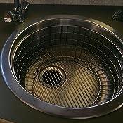 f36888dbdeac Franke ER-50S Esprit Round Stainless Steel Drain Basket - Bathroom ...