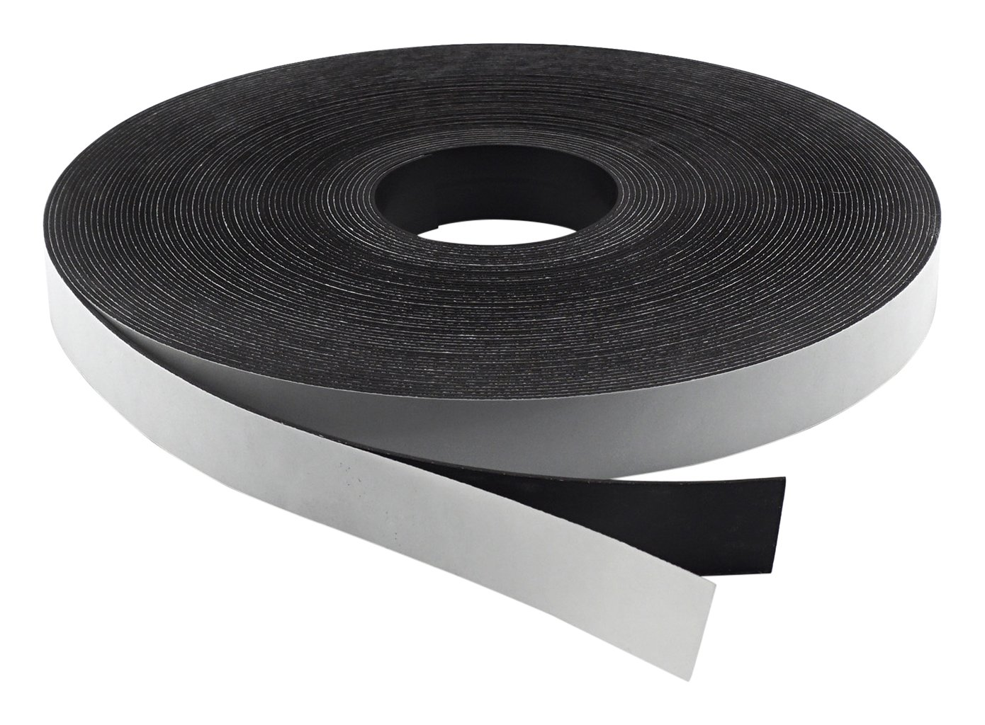 Master Magnetics Flexible Magnet Strip with Adhesive Back , 1/16'' Thick, 1-1/2'' Wide, 100 feet (1 Roll)