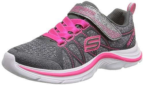 Skechers Swift Kicks - Zapatillas De Deporte, Niñas: Amazon.es: Zapatos y complementos