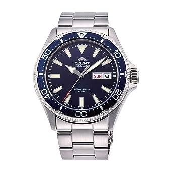 Orient Reloj Analógico para Hombre de Automático con Correa en Acero Inoxidable RA-AA0002L19B: Amazon.es: Relojes