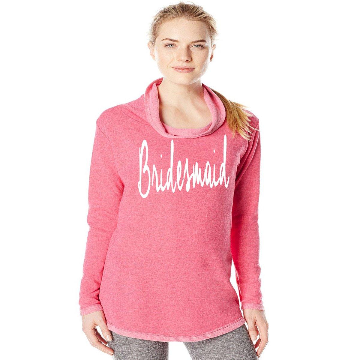 Super Soft Cotton Shirt Blend Womens Queen Apparel Bridesmaid Sweatshirt