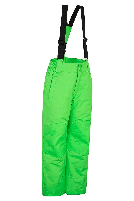 Mountain Warehouse Raptor Kids Snow Ski Pants Detachable Suspenders