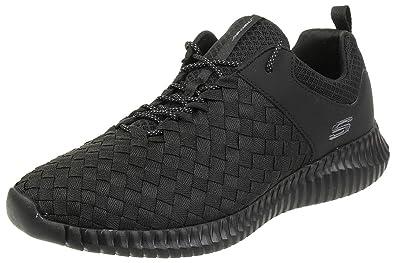 select for genuine cheap comfortable feel Amazon.com   Skechers 52649-BKW: Mens Elite Flex Wasik Black ...