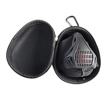 Máscara de entrenamiento, entrenamiento fitness máscara, máscara de resistencia a la respiración hipóxico,