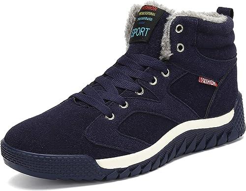 Fourrure Sport Baskets Chaude Pastaza Neige Bottines Antidérapant Outdoor Chaussures d'hiver Bottes de Homme Hiver deCxBro