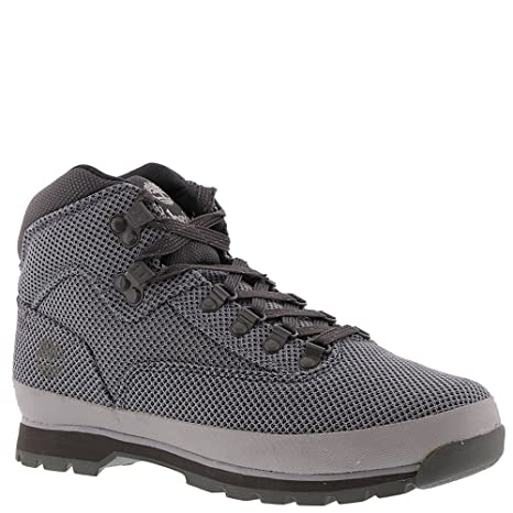 ae1442810e7 Timberland A1O9D Men's Euro Hiker Cordura Fabric Boots, Sleet Grey ...