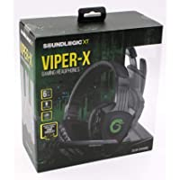 Viper-X Best Stereo Gaming Headset for PS4 PC Xbox One Controller Laptop Mac Nintendo Heavy Bass Headphones w/Mic LED…