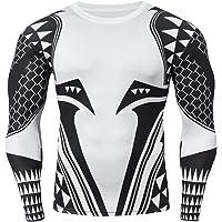 Cody Lundin Camisetas con Estampado 3D Camisa de compresión para Hombre Tops de compresión de Manga Larga para Hombres
