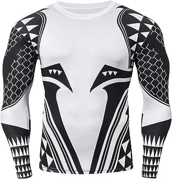 Cody Lundin Camisetas con Estampado 3D Camisa de compresión para Hombre Tops de compresión de Manga Larga para Hombres: Amazon.es: Ropa y accesorios