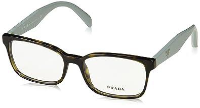 ed67faffc14 Prada PR18TV Eyeglasses 2AU1O1 Havana 51-16-140  Amazon.co.uk  Shoes ...