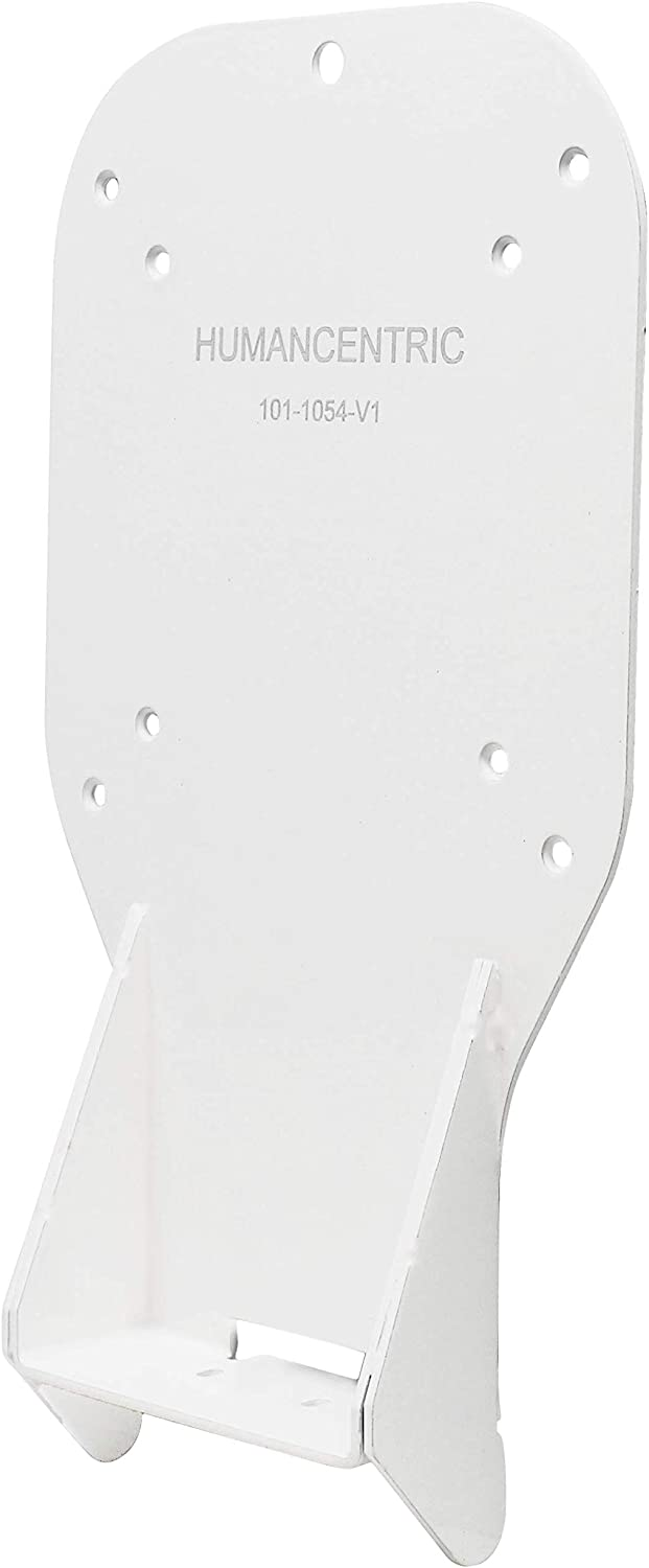 HumanCentric VESA Mount Adapter (White) for HP 22er, 22es, 23er, 23es, 23f, 24er, 24ea, 25er, 25es, 25f, 27er, 27ea, 27es, 27f, 27fw Monitors [Patent Pending]