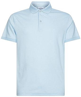 Calvin Klein - Polo Interlock para Hombre, de algodón, Slim Fit ...