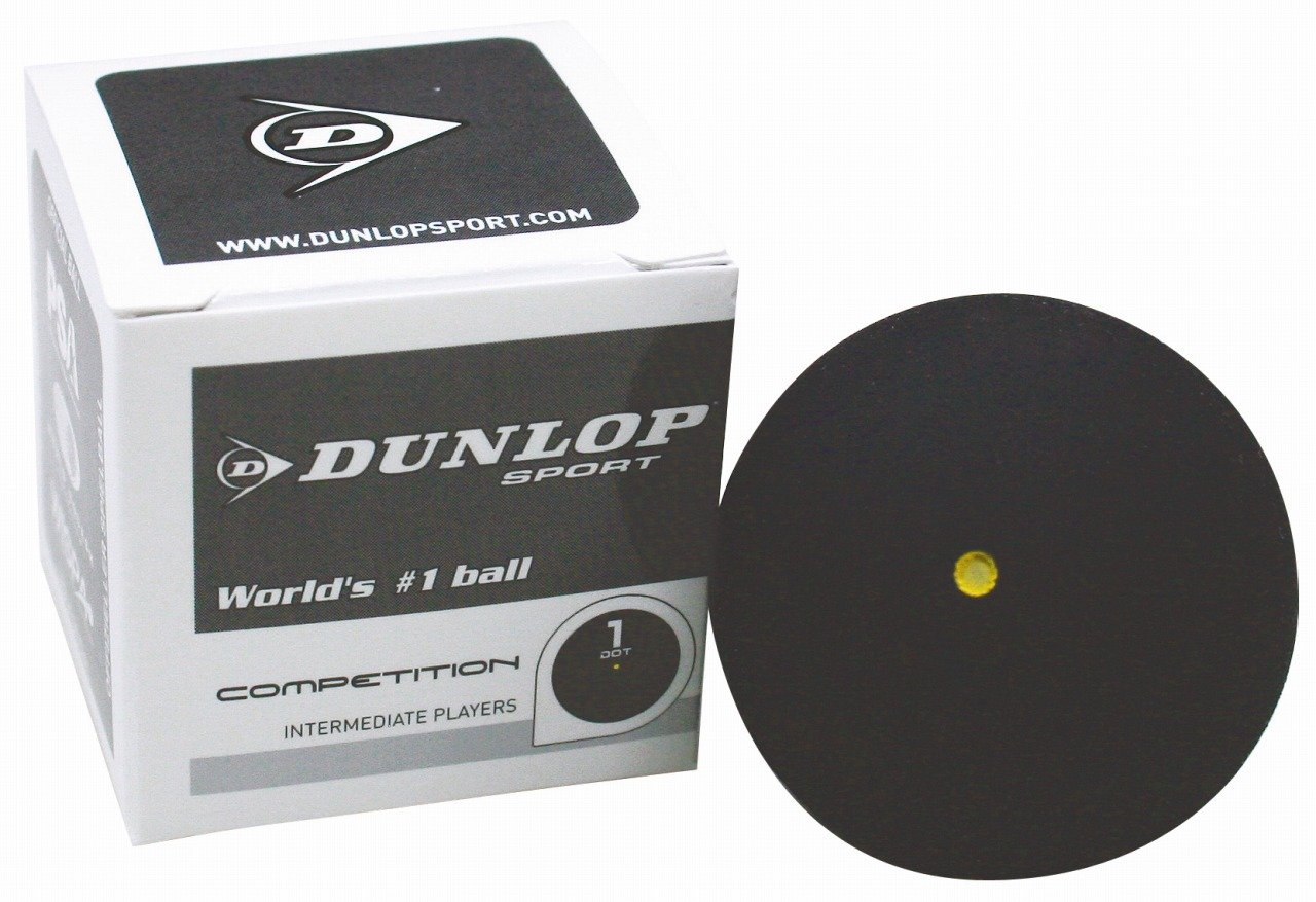 Dunlop  competition ball ball box 12 de squash DA50022