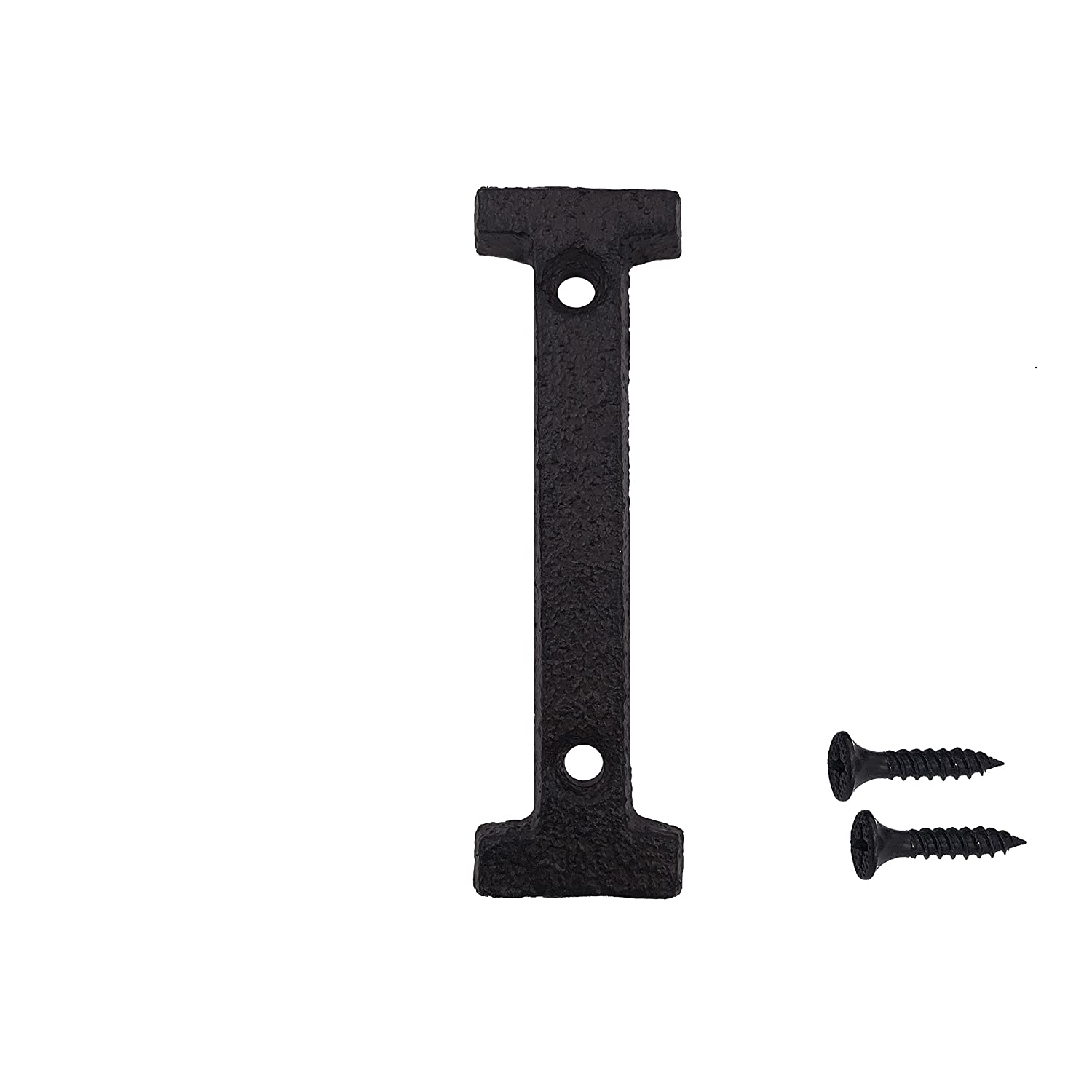 Matching Screws Included Black Number 8 3 Inch Wrought Iron House Number