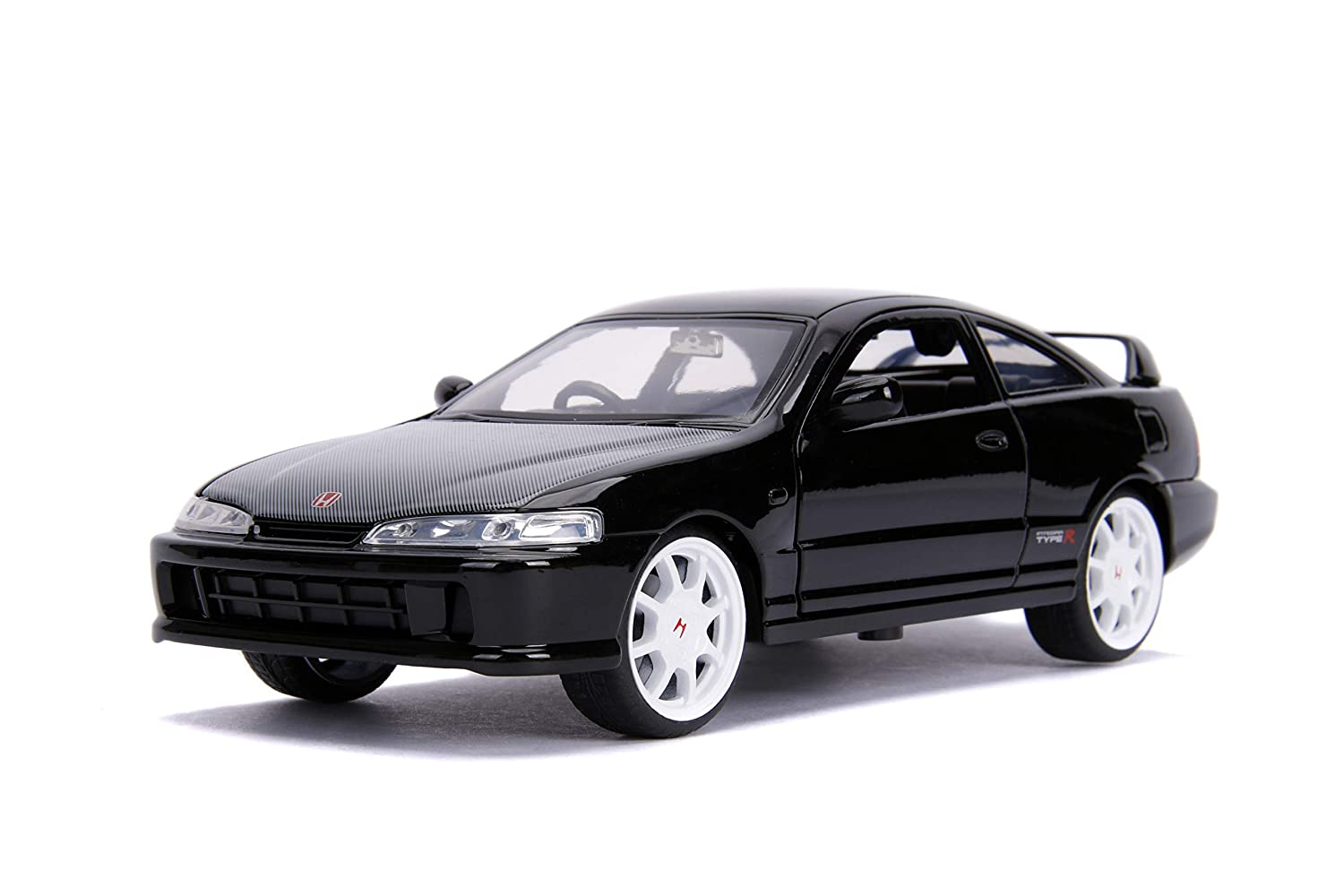 Jada JDM Tuners - 1995 Honda Integra Type R (Japan Spec) 1: 24 Scale Metals DIE-CAST Car, Glossy Black
