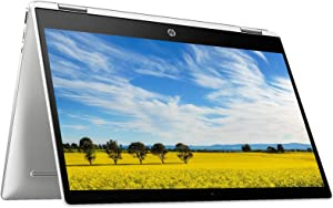 2021 HP Chromebook 14 Inch Touchscreen 2-in-1 Laptop, Intel Celeron N4000 up to 2.6 GHz, 4GB LPDDR4 RAM, 32GB eMMC, Bluetooth, Webcam, Chrome OS + NexiGo 32GB MicroSD Card Bundle