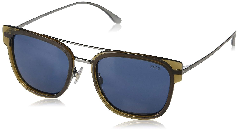 Amazon.com: Gafas de sol Polo PH 3117 934780 BROWN: Shoes