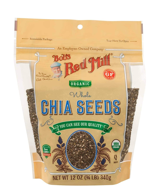 Semillas de Chia entiã š res Oragnic, 340 g (12 oz) - Bobs Red ...