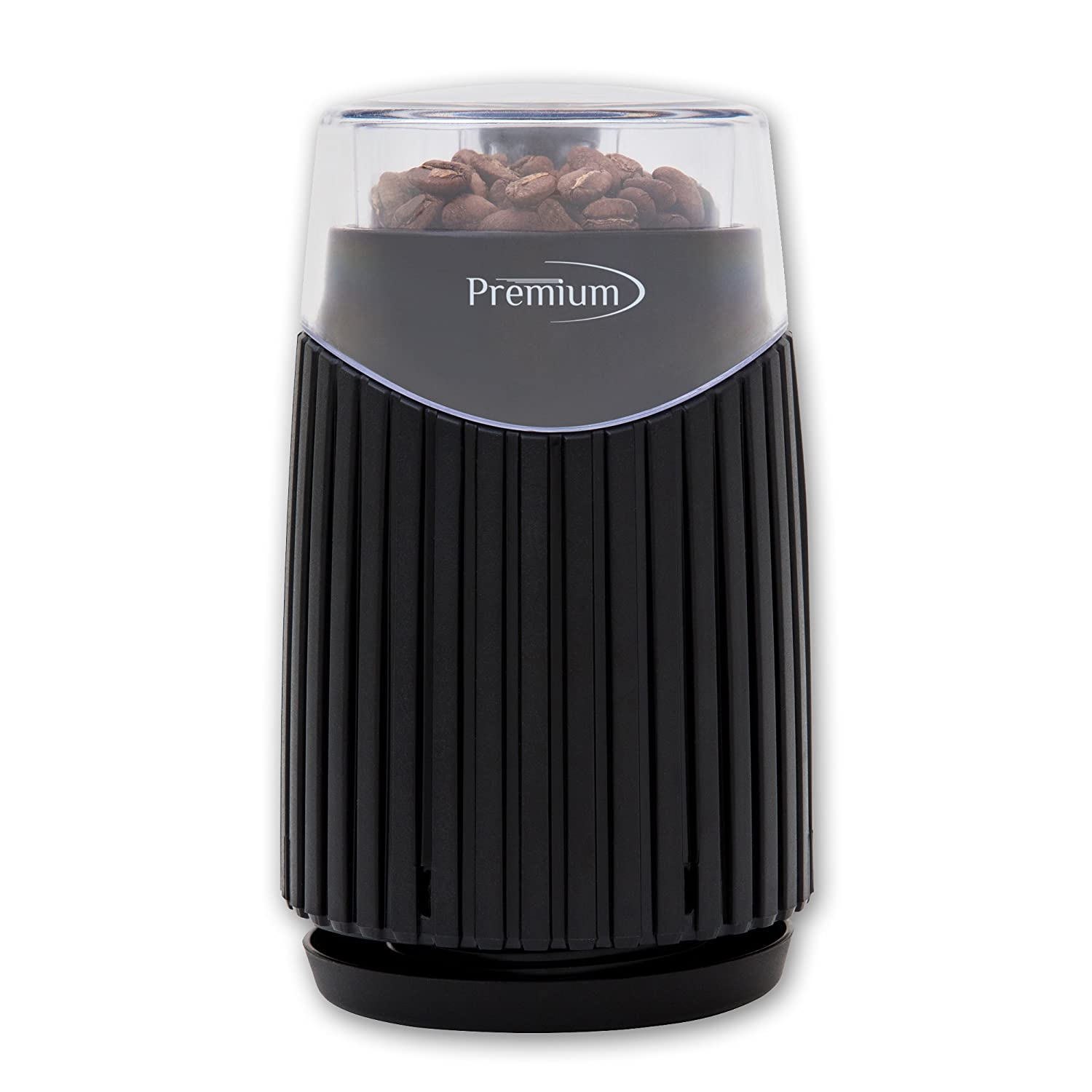 Premium Electric Coffee Grinder with stainless steel blade with durable stainless steel bowl 1.8 Oz