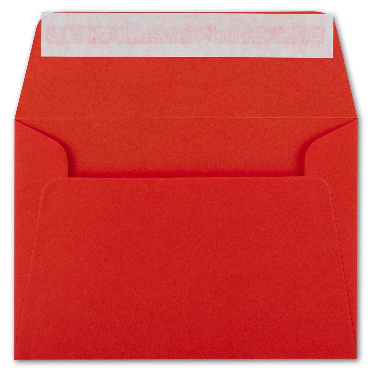200x Brief-Umschläge B6 - Naturweiss Naturweiss Naturweiss - 12,5 x 17,5 cm - Haftklebung 120 g m² - breite edle Verschluss-Lasche - hochwertige Einladungs-Umschläge B078HFLLMR | Stil  42c1ec