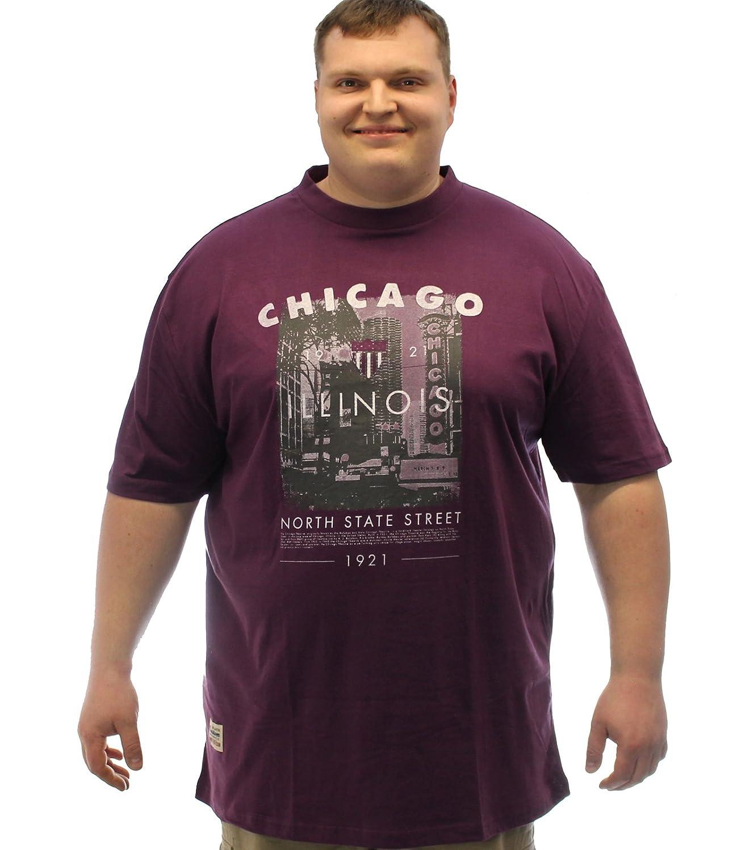 Ed Baxter Chicago T-Shirt - Plum