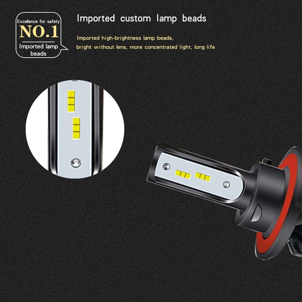 LED H13 Head Light Bulb Kit Polaris Ranger RZR General Low and High Beam Lamp Set 2-Pack