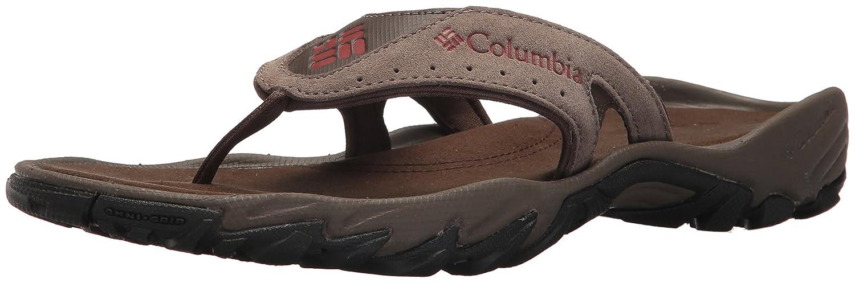 Columbia Men's Santiam Flip Sport Sandal B073RPKXRR 10 D(M) US Mud, Rusty