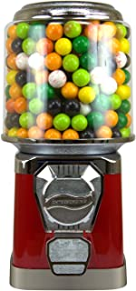 Gumball Machine for Kids - Red Vending Machine with Cylinder Bank
