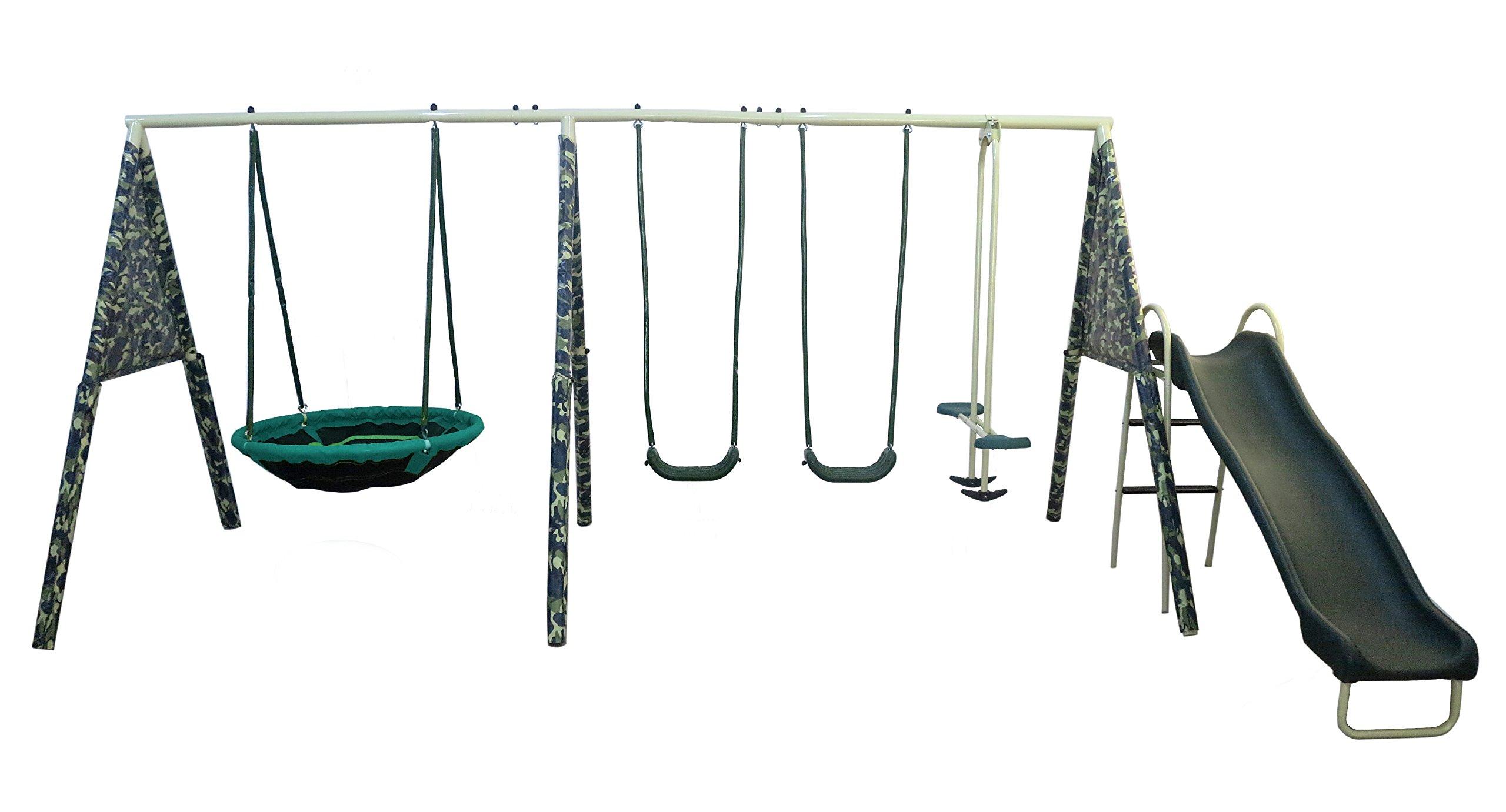 XDP Recreation ''Camo Commander Swing Set