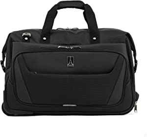 Travelpro Maxlite 5-Carry-On Rolling Duffel Bag, Black, 20-Inch