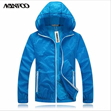 cf91aa66667 NANFOO 7 Colors Available Summer Ultrathin Breathable Sun-Protective  Outdoor Sport Jacket Quick-Dry